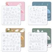 Acrylic Stamping Plate Kit (Childrens Park 01-04)