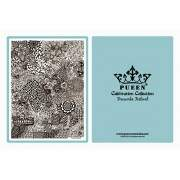 PUEEN 2014 Nail Art Stamping Plate Celebration Collection - Fireworks Festival