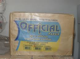 Papel toalha branco official