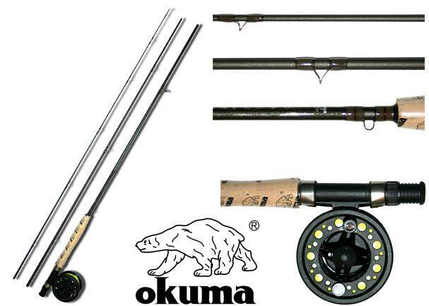 KIT DE FLY OKUMA CASCADE