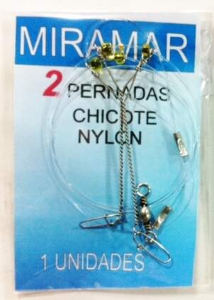 CHICOTE NYLON 0,60mm 2 (31111) MIRAMAR