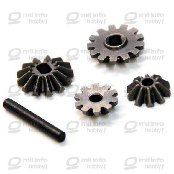 #02066 - Diff. Pinions + Bevel Gears + Pin