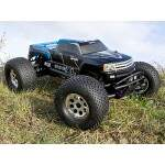 HPI7750 - GT GIGANTE TRUCK PAINTED BODY (BLUE)