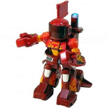 Takara Tomy BattroBorg 20 Mini RC Robot 02 (Mars Red)