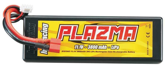 HPI101943 - PLAZMA 11.1V 3800mAh 30C LIPO BATTERY PACK