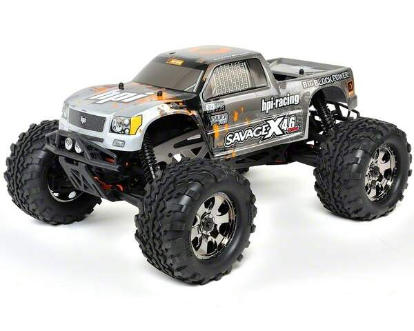 HPI109083 - AUTOMODELO A COMBUSTAO OFF-ROAD RTR SAVAGE X 4
