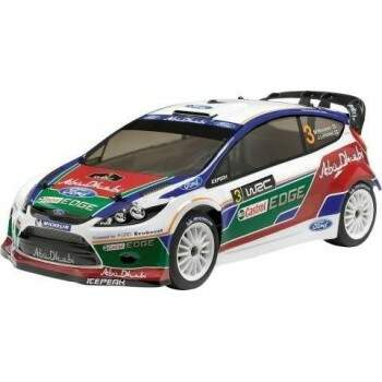 HPI107401 - 2011 FIESTA RS WRC FORD ABU DHABI WRT TEAM BODY