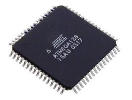 ATMEGA128-16AU - 8-bit AVR Microcontroller / 128KB Flash / 64-pin