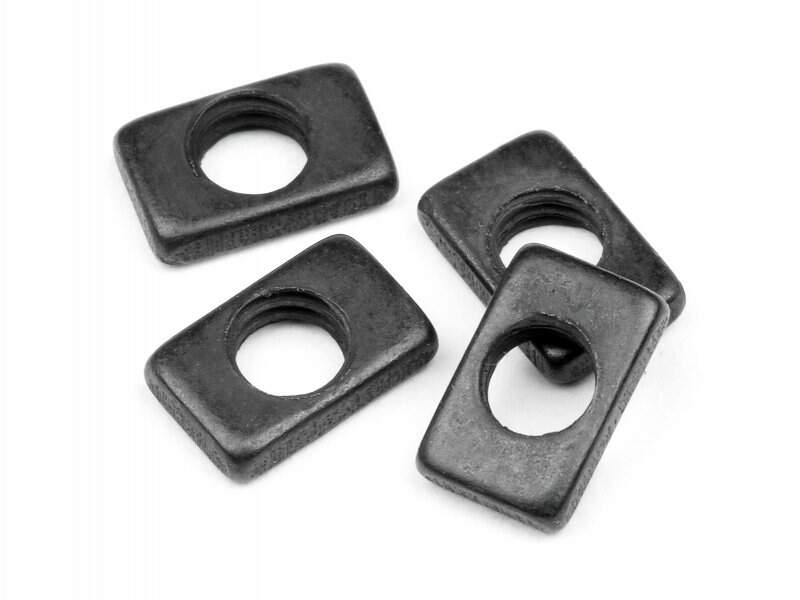 HPI101226 - STEERING NUT 3mm (4pcs)
