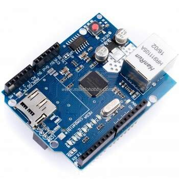 Ethernet Shield W5100 + SD