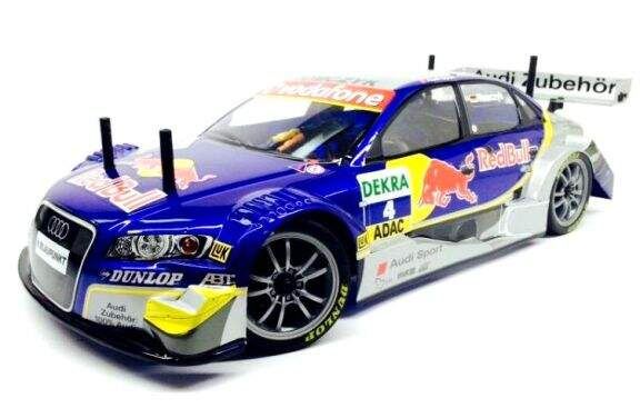 Bolha para On Road 1:10 - AUDI A4 DTM Red Bull 1/10  200mm