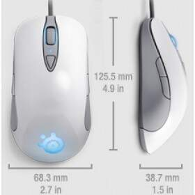 # ESPECIAL NATAL # Mouse SteelSeries Sensei Raw Frost Blue