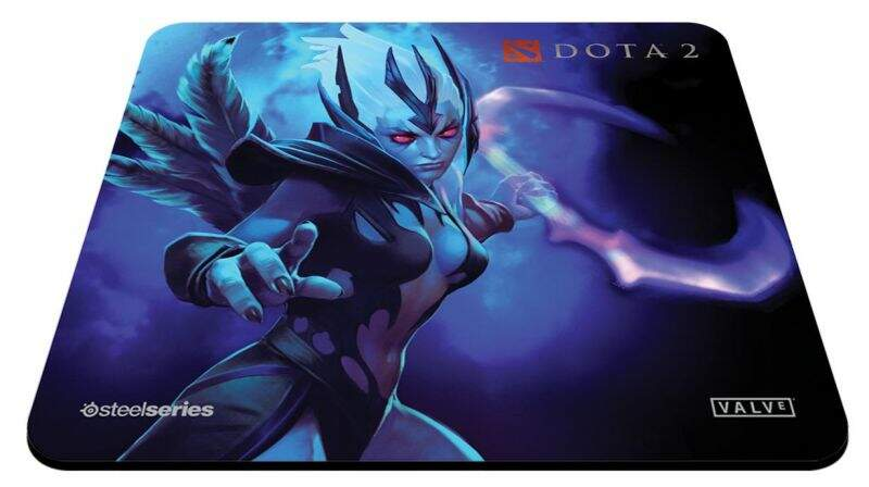 MousePad SteelSeries QcK+ Dota 2 Vengeful Spirit Edition