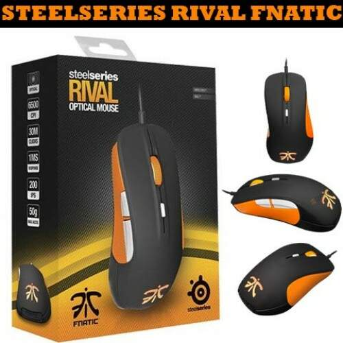 Mouse SteelSeries Rival Fnatic Edition Optical - 62276