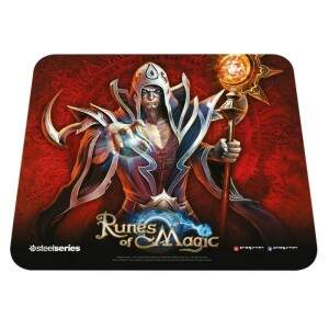 # PROMOÇÃO # MousePad SteelSeries QcK Runes of Magic