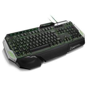 Teclado Multilaser Metal War TC189