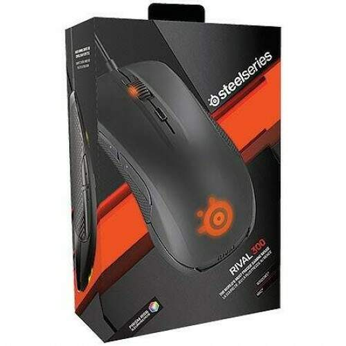 Mouse SteelSeries Rival 300 Black Optical - 62341