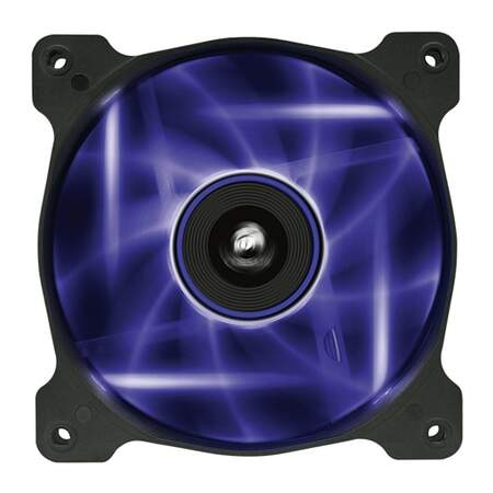 Cooler FAN Corsair de 120mm Air Séries AF120 Quiet Edition com LED Roxo - CO-9050015-PLED