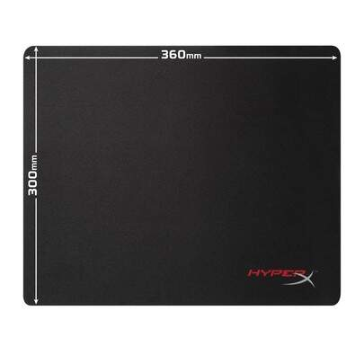 MousePad HyperX Fury S HX-MPFS-M Medium 36x30cms - Bordas Costuradas