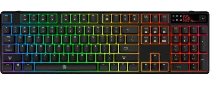 # BLACK NOVEMBER # Teclado Thermaltake TTeSports Poseidon Z RGB Switch Brown Axis KB-PZR-KBBRUS-01