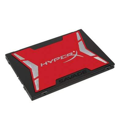 SSD Kingston HyperX Savage 240GB SATA III 6Gb/s Leituras: 560MB/s e Gravações: 530MB/s - SHSS37A/240G
