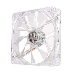 Cooler FAN Thermaltake Pure 12 Transparente LED White 120mm CL-F020-PL12WT-A