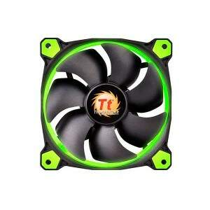 # PROMOÇÃO # Cooler FAN Thermaltake Riing 12 Fan Led Green 1500RPM CL-F038-PL12GR-A