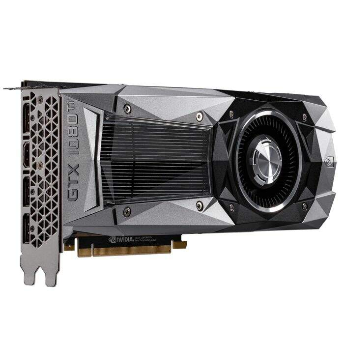 Placa de Vídeo VGA Gigabyte GeForce GTX 1080 Ti Founders Edition 11GB GV-N108TD5X-B
