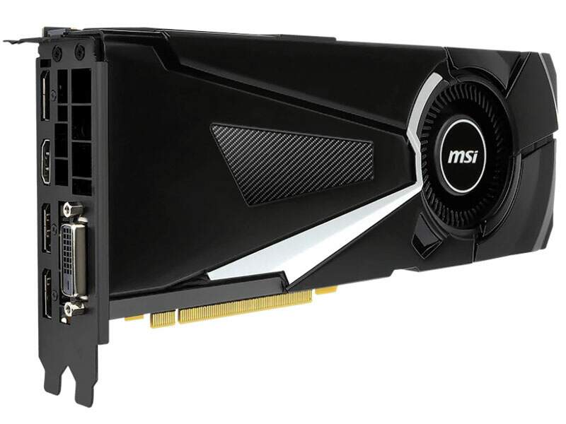 Placa de Vídeo VGA MSI GeForce GTX 1080 Aero OC 8GB 912-V336-001