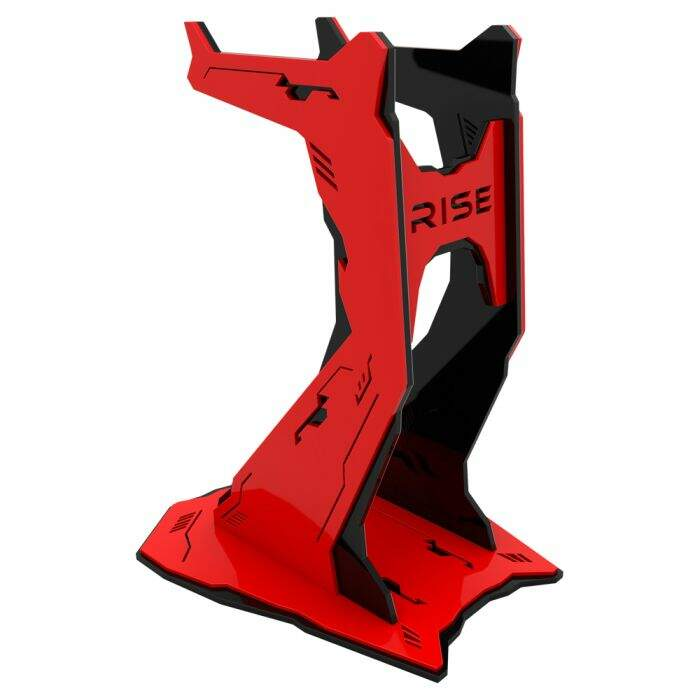 Suporte HeadSet Rise Gaming Venon PRO - Black and Red