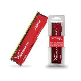 Memória Kingston HyperX FURY 8GB 2400Mhz DDR4 CL15 Red Series HX424C15FR2/8