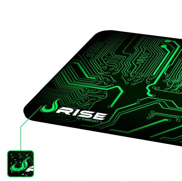 MousePad Rise Gaming Circuit Grande Bordas Costuradas - RG-MP-05-CRT
