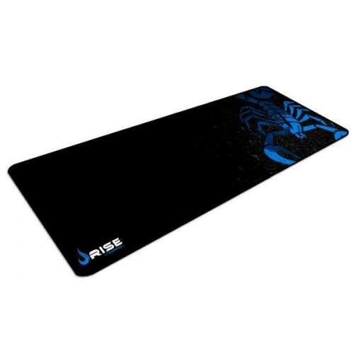 MousePad Rise Gaming Scorpion Extended Bordas Costuradas - RG-MP-06-SK