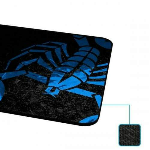 MousePad Rise Gaming Scorpion Grande Bordas Costuradas - RG-MP-05-SK