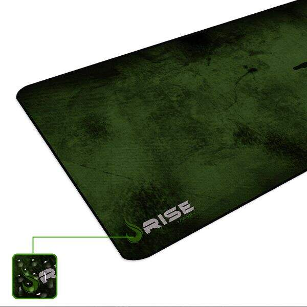 # BLACK NOVEMBER # MousePad Rise Gaming Sniper Extended Bordas Costuradas - RG-MP-06-SNP