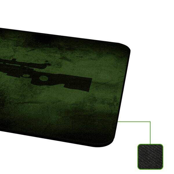 MousePad Rise Gaming Sniper Grande Bordas Costuradas - RG-MP-05-SNP