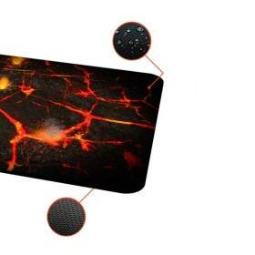 MousePad Rise Gaming Volcano Médio Bordas Costuradas - RG-MP-04-VO