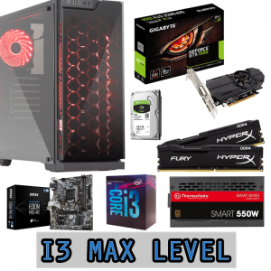 Computador ProGaming i3 Max Level