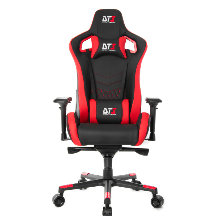 Cadeira Gamer Dt3 Sports Onix Diamond Red - 10593-8