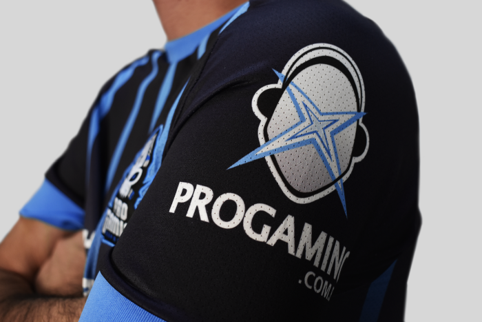 Uniforme Oficial ProGaming Esports Striped Edition - Feminino (Baby Look)