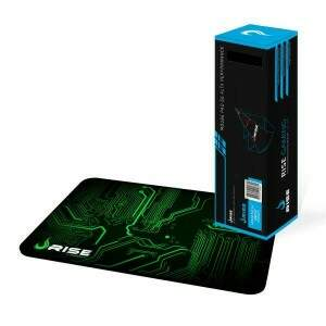 MousePad Rise Gaming Circuit Médio Bordas Costuradas - RG-MP-04-CRT
