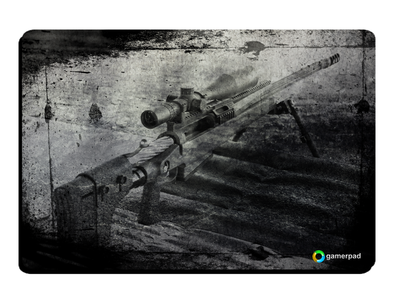 # ESPECIAL NATAL # MousePad GamerPad Sniper Black Large