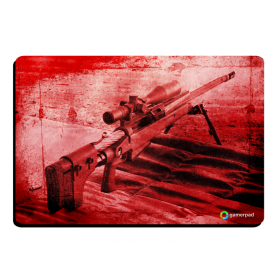 MousePad GamerPad Sniper Red Large