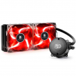WaterCooler Maelstrom 240T DeepCool 240mm para AMD e Intel com LED Vermelho MS240T-RED