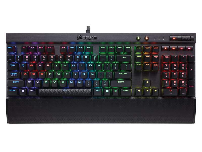 Teclado Corsair Gaming K70 RapidFire RGB Cherry MX Speed ABNT2 - CH-9101014-BR