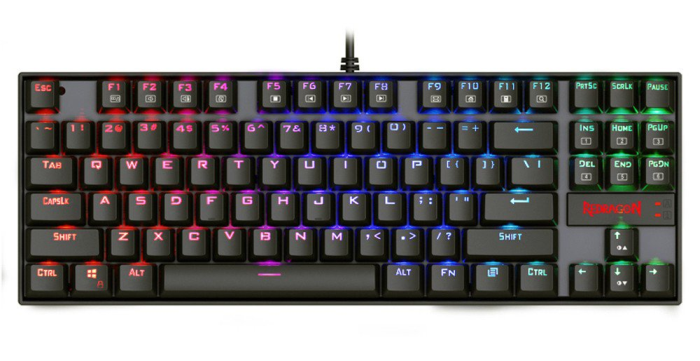 # BLACK NOVEMBER # Teclado Gamer Redragon Mecânico Kumara K552 RGB ABNT2 Switch Brown c/ Led RGB