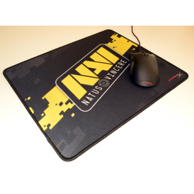 # BLACK NOVEMBER # MousePad HyperX Fury S NaVi Special Edition Large 45x40cms - Bordas Costuradas