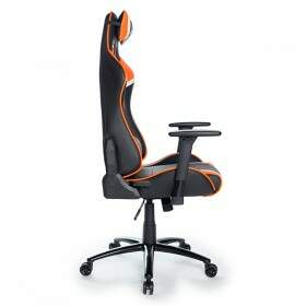 Cadeira Gamer DT3 Sports Módena Black Orange 10503-9