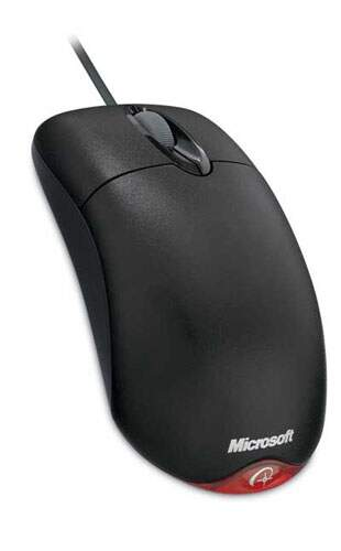 Mouse Microsoft Wheel 1.1 Black OEM
