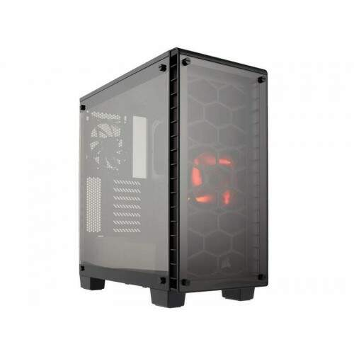 Gabinete Gamer Corsair Crystal Series 460X Vidro Temperado - CC-9011099-WW